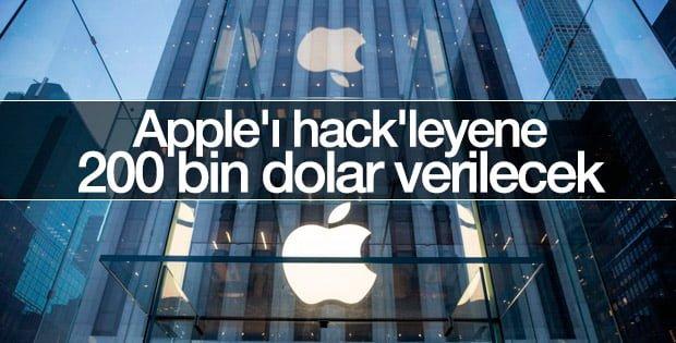 Apple hackleyene ödül verecek