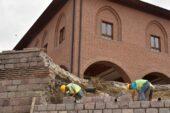 Hacı Bayram Camii Surları Yenileniyor