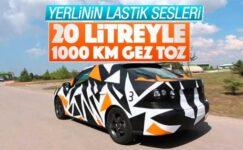 Yerli otomobil 20 litre yakıtla 1000 kilometre yol gidecek