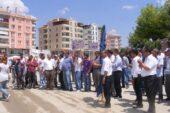 Akyurt'ta toplantı ve yürüyüş güzergahı değişti