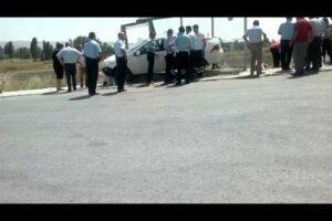Ankara/Akyurt Toki Blokları Kaza Olmuştur 6 yaralı.