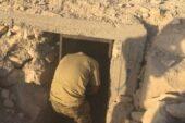 Cerablus'ta IŞİD'in gizli tüneli bulundu