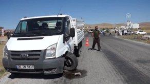 Çubuk ta Trafik Kazası: 6 Yaralı