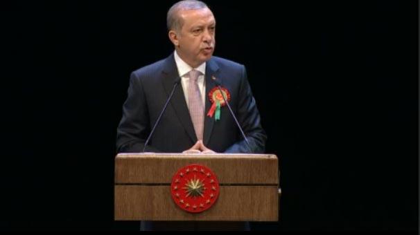 Cumhurbaşkanı Erdoğan Adli Yıl açılışında konuştu