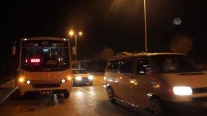 Çubuk ta Trafik Kazası: 2 Yaralı