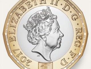 İngiltere'de yeni madeni para piyasaya sürüldü