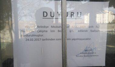 Akyurt'a Yeni Mezbahane