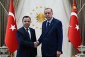 Erdoğan AYM Başkanı ile görüştü