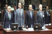 AB ve BM'den Suriye için saygı duruşu