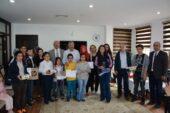 Kitap Okuma Yarışmasında Ödüller Verildi