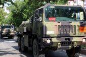İtalya'dan Türkiye'ye 15 araçlık NATO konvoyu