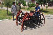Liseli gençler 'mayın arama robotu' yaptı