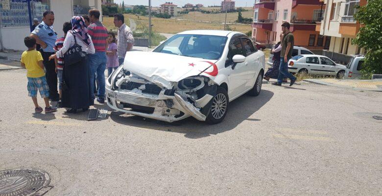 Kızık Yolu'nda Kaza