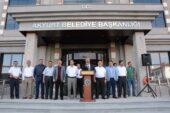 Akyurt Belediyesinin yeni hizmet binası açıldı