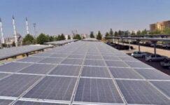 Türkiye'nin ilk güneş enerjili otogarı
