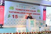 Ankara'da 249 Milyon TL'lik yatırım
