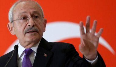 Kılıçdaroğlu: Biz gerginlikten yana değiliz