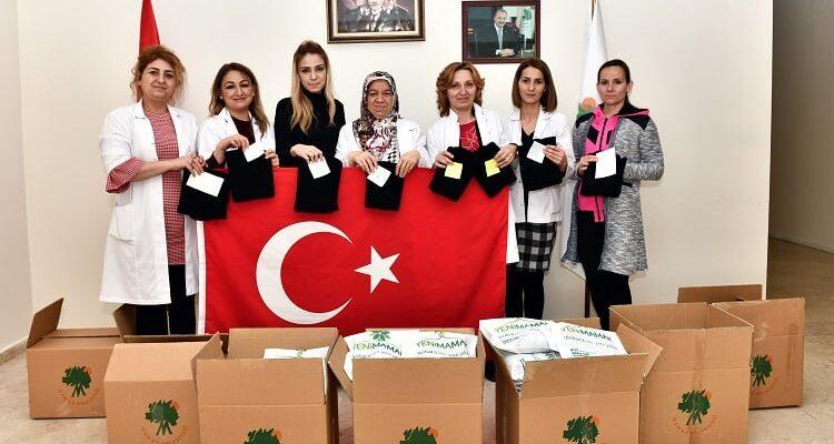 """Mehmetçiğe """"Bir Yumak Destek"""""""