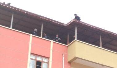 Akyurt'ta intihar girişimi