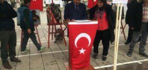Çubuk'ta 'Zeytin Dalı Harekatı Fotoğraf Sergisi'