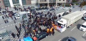 Keçiören Belediyesi'nden Afrin'in İnşası İçin İlk Adım