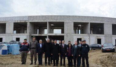 Ankara Valisi Ercan Topaca, Akyurt'ta Geri Gönderim Merkezi İnşaatını İnceledi