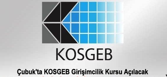 Çubuk Belediyesi ile Kosgeb Girişimcilik Kursu Protokolü
