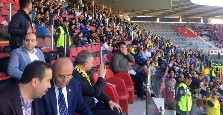Başkan Ertürk Ankaragücü'nü Yalnız Bırakmadı