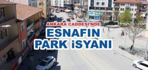 Esnafın Park İsyanı