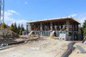 Höyük Parkı Sosyal Tesis İnşaatı Devam Ediyor