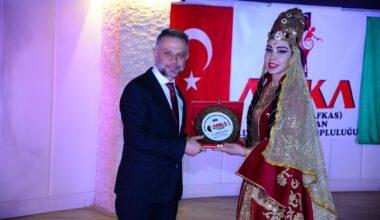 """Tek millet iki devlet"" dansla buluştu"