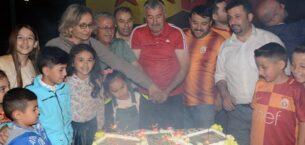 Galatasaraylı Taraftarlar Şampiyonluğu Kutladı