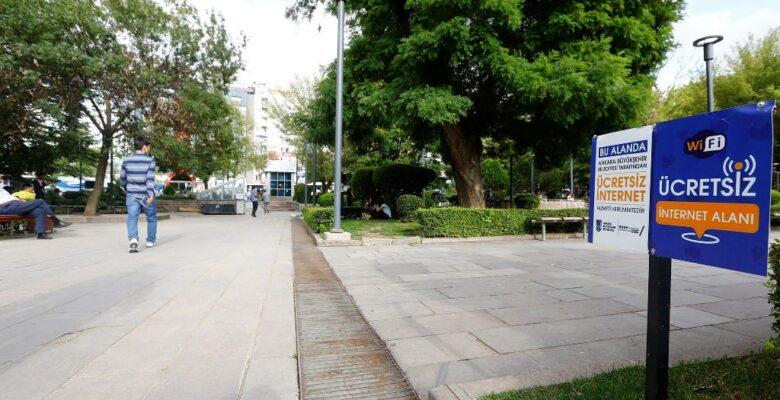 Büyükşehirden Ücretsiz Wi-Fi Hizmeti