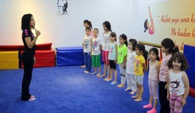 Yenimahalle'de Çocuk Jimnastik Salonu Açıldı