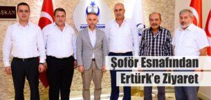 Şoför Esnafı'ndan Ertürk'e Ziyaret