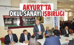 Akyurt'ta Okul-Sanayi İşbirliği