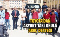 Toyota'dan Eğitime Destek