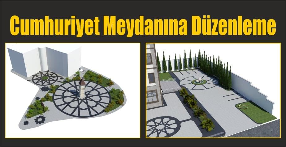 Cumhuriyet Meydanına Düzenleme