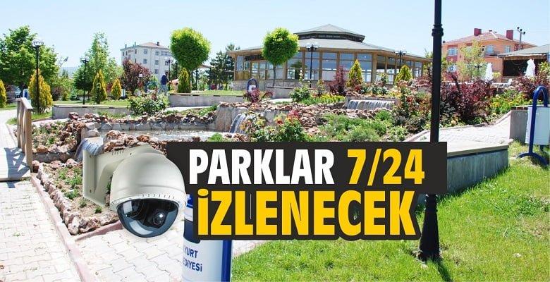 Parklara Güvenlik Kamerası