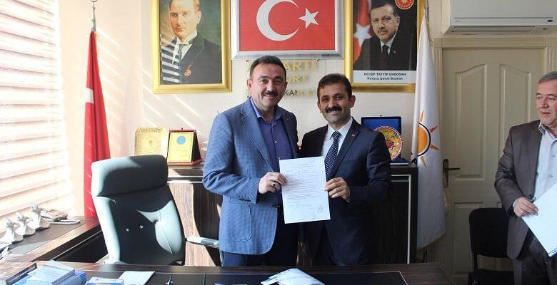Yurtdoğan AK Parti'den Aday Adayı