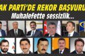 AK Parti'de Rekor Başvuru