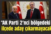 AK Parti , MHP İttifakında 2. Bölge Sürprizi