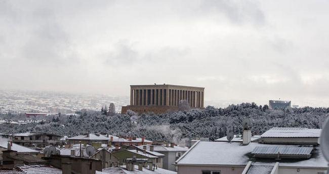 Meteoroloji'den Ankara İçin Kuvvetli Kar Yağışı Uyarısı!
