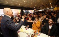 Başkan Yaşar, Yenimahalleli Gençlerle Buluştu