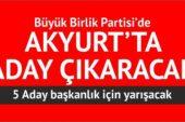 Kesinleşen Akyurt Belediye Başkan Adayları
