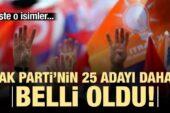 İşte AK Parti'nin Ankara ilçe adayları