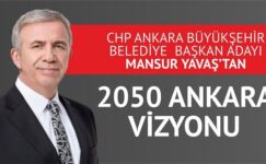 CHP'nin Adayı Yavaş'tan 2050 Ankara Vizyonu