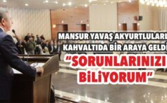 Mansur Yavaş Akyurt'ta Projelerini Anlattı