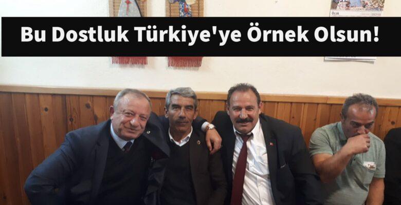 Bu Dostluk Türkiye'ye Örnek Olsun!