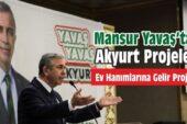 Mansur Yavaş'tan Akyurt Projeleri